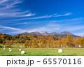 (長野県)木曽の御嶽山 牧草ロール 65570116
