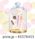 ガラスケースに入った化粧品 65576453