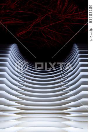デザインペーパークラフト(イメージ写真) 65583186