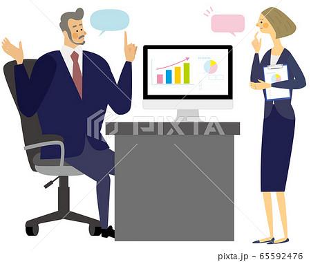 オフィス ビジネス 人物 ベクター 65592476