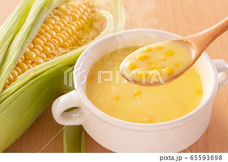 コーンスープ 65593698