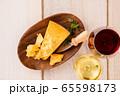 ワインとチーズ 65598173