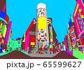 カラフルなイメージの渋谷 65599627