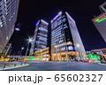 ささしまライブ駅前の高層ビル群夜景 65602327