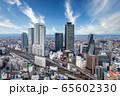名古屋駅の高層ビル群 65602330