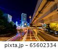 高速道路の夜景 65602334