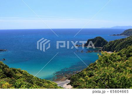 横浪黒潮ライン 帷子崎からの景観(高知県) 65604665