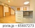 新築住宅 木造注文住宅のリビングダイニング 65607273