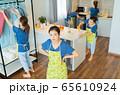 Housewife, housework 65610924