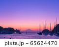 海からの富士山夕景(神奈川 三浦半島) 65624470