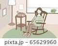 微笑む妊婦さん/ Smiling pregnant woman 65629960