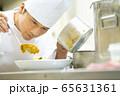 シェフ コック レストラン 料理人 調理 料理 65631361