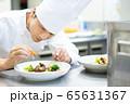シェフ コック レストラン 料理人 調理 料理 65631367