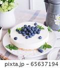 ブルーベリー レアチーズケーキ 65637194