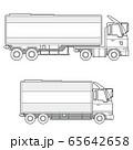 トラック トレーラー 65642658