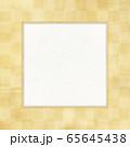 和風素材 正方形-金箔-和紙-和柄-背景-のし紙-フレーム 65645438