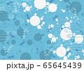 背景素材-夏イメージ-和モダン-水玉-金魚-アクアリウム 65645439