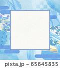 和風背景素材-清涼感-和紙-夏-水紋-波紋 65645835