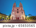 Night view of St. Michael's Cathedral 65650565