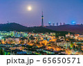 Night view of the Qingdao TV Tower 65650571