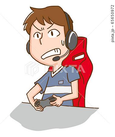 eスポーツ ゲーム テレビゲーム ビデオゲーム 男性 65650972