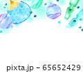 夏のイメージイラスト背景 65652429
