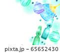 夏イメージのイラスト背景 65652430