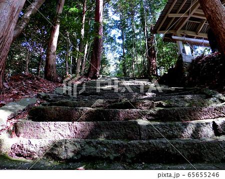 古の石階段 65655246