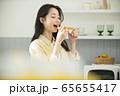 여자,요리,음식 65655417