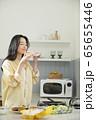 여자,요리,음식 65655446