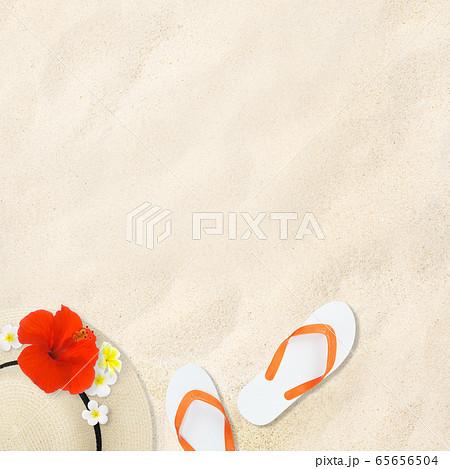 背景-砂浜 65656504