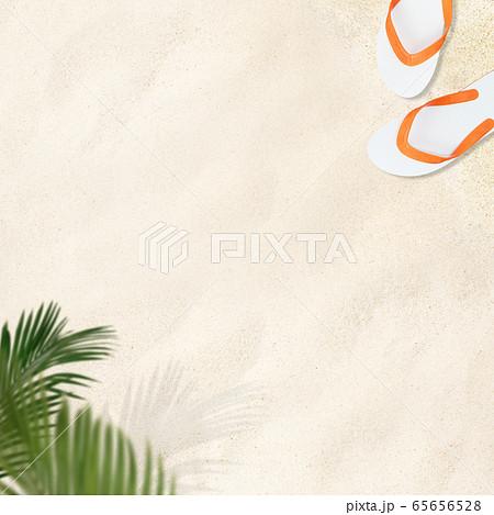 背景-砂浜 65656528