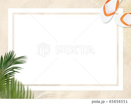 背景-砂浜-フレーム 65656551