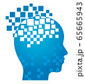 人工知能のシンボルイラスト 65665943