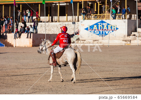 Polo players at Ladakh festival, Leh 65669584