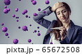 ウイルス 感染症 65672508