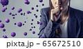 ウイルス 感染症 65672510