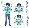 simple school boy Green Blazer_Calling-out-loud 65678261