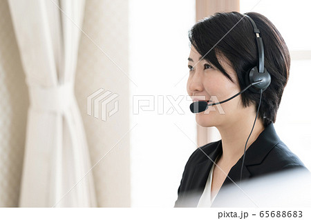 女性 インカム カスタマーサービス 65688683