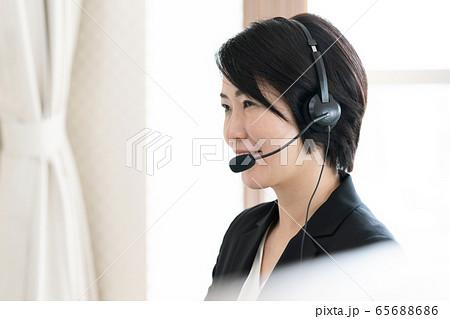 女性 インカム カスタマーサービス 65688686