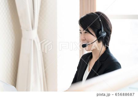 女性 インカム カスタマーサービス 65688687