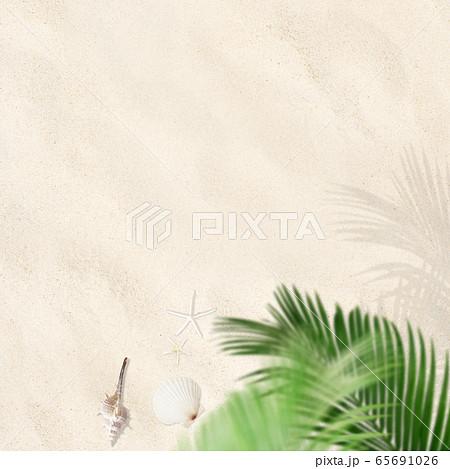 背景-砂浜 65691026