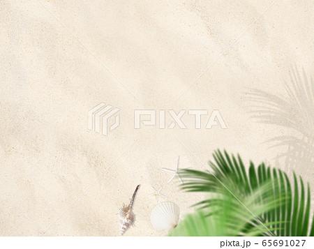 背景-砂浜 65691027