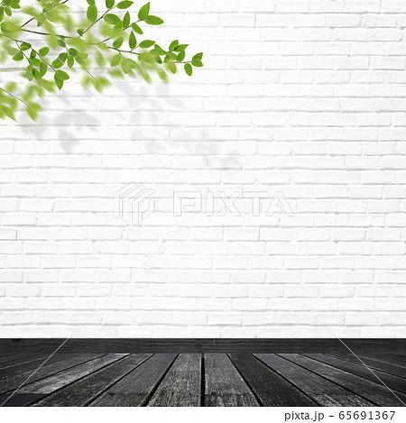 背景-壁-床-観葉植物 65691367