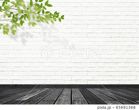 背景-壁-床-観葉植物 65691368