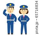 人物 警備員 男女 65716834