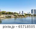 東京都 浜離宮恩賜庭園 大泉水 中島のお茶屋 65718505