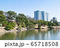 東京都 浜離宮恩賜庭園 大泉水・松の御茶屋付近 65718508