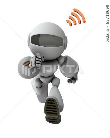 ワイヤレスでコマンドを受けるロボット 65718699