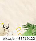 背景-砂浜 65719122